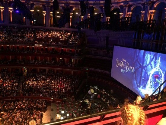 Beauty and the Beast at the Royal Albert Hall