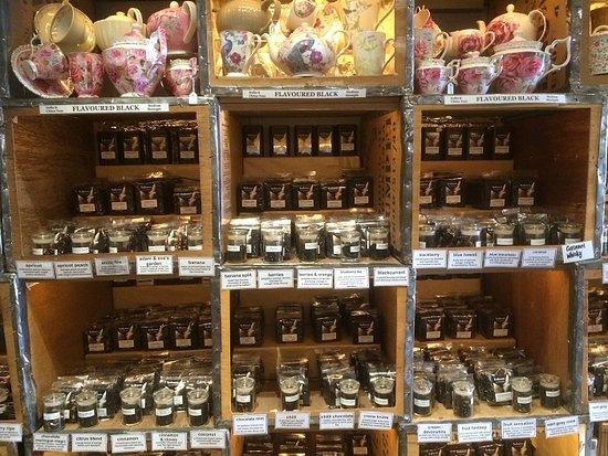 Sassafras, Australia: Tea On Sale
