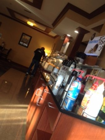 Rensselaer, NY: coffee area