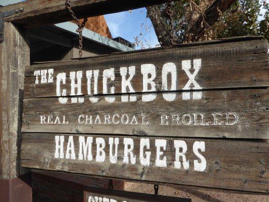 Sign Picture Of The Chuckbox Tempe Tripadvisor