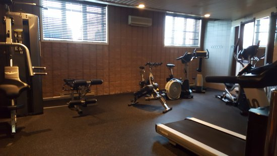 Gym pretty small but has standard equipment picture of ramada