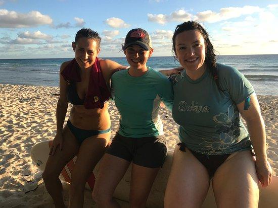 Atlantic Shores, باربادوس: Surfing In Barbados, Ride The Tide Surf School's surfing lessons