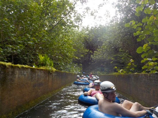 Hanamaulu, HI: Our amazing Tubing adventure Nov 25