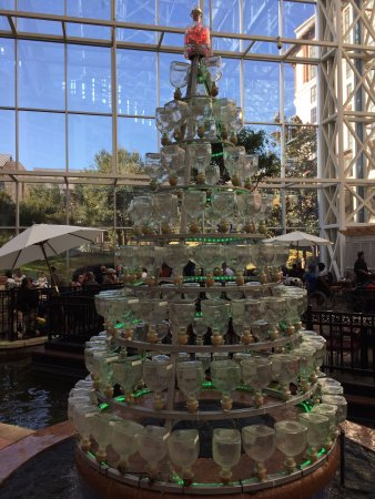 Christmas Tree made from Tequila bottles!