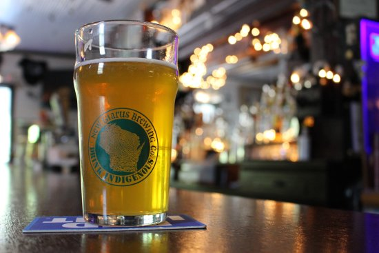 Washington Island, WI: Great place to have a beer!