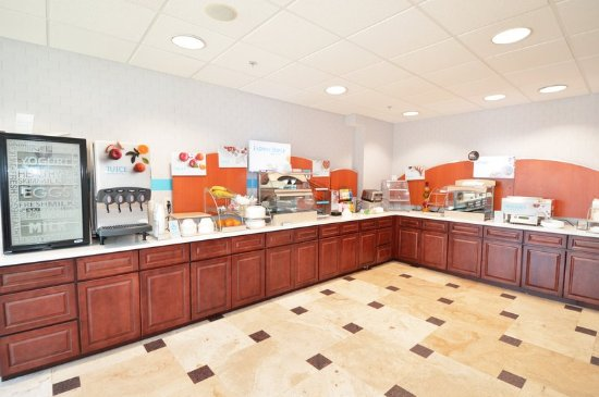 Holiday Inn Express Toledo-Oregon : Restaurant