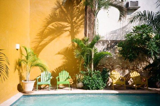 Luz En Yucatan: Peaceful pool