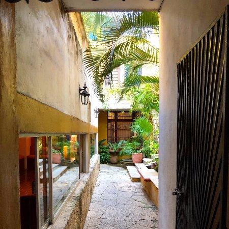 Entering Luz en Yucatan