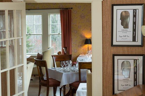Sugar Hill, NH: Dining Room
