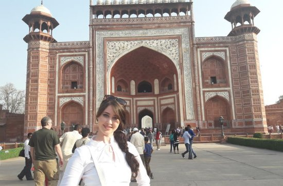 Taj Mahal & Agra fort com mercado...