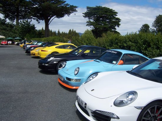 Waihi, New Zealand: ideal place for car rallies  and clubs
