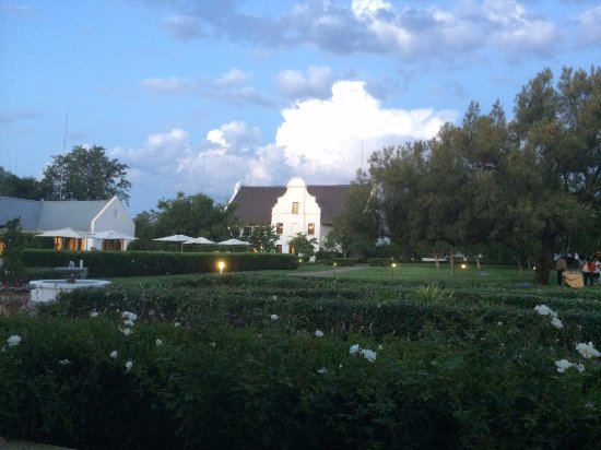 Kievits Kroon: The view from the Granitas restaurant!