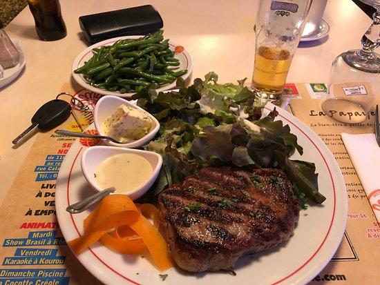 Mille Pâtes : steak salade