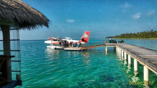 האי מדהופושי: Departure lounge