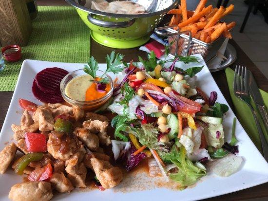 Falafel Beirut: Schawarma Teller