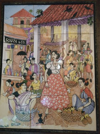 Casa De Goa Boutique Resort: a nice painting ..