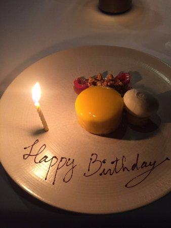 ARIA Restaurant: Popcorn Cheesecake