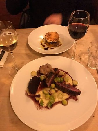 Restaurant La Cacerola: Escondidinho and Wilde Eend