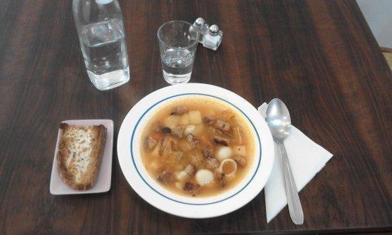 Agen, France: Soupe