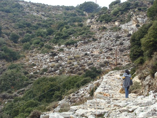 Danakos, اليونان: Auf dem Weg von Danakos zum Moni Fotodotis