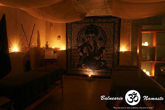 Sant Vicent del Raspeig, Spanien: Sala de masaje Namaste