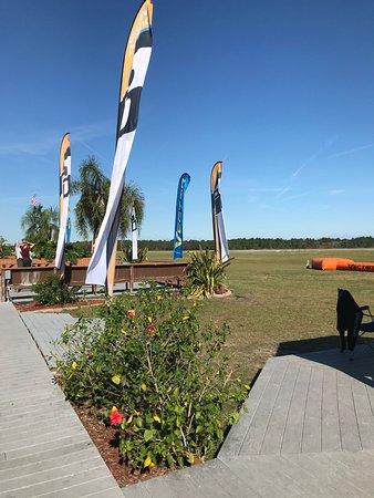DeLand, فلوريدا: Bar terrace
