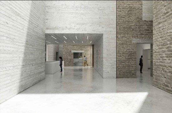 Musée de Lodève (Musée Fleury) : Le nouvel accueil du musée : ouverture le 7 juillet 2018  (Architecte © Projectiles)