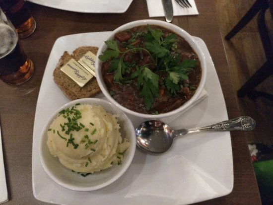The Old Mill Restaurant: Braised Beef & Guinness Stew