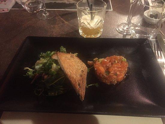 Barberaz, فرنسا: Tartare de saumon