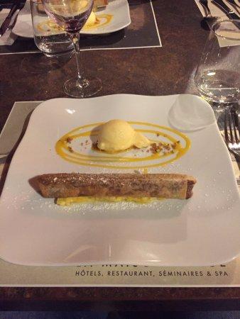Barberaz, فرنسا: Brick au Nutella