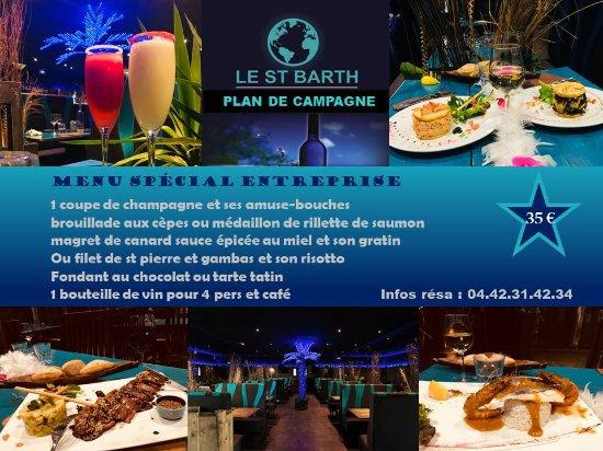 Cabries, Francja: Repas de fin d'année entre collègues!