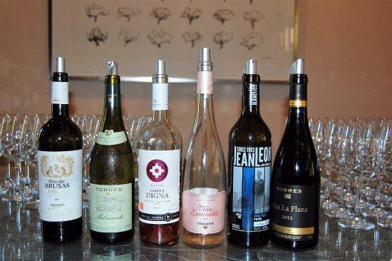 Pacs del Penedes, Hiszpania: Vinos