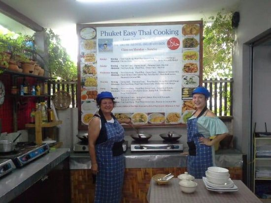 Rawai, Thailand: Let's cooking