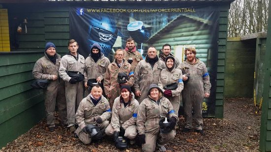 Coventry, UK: This is our team ready for battle!
