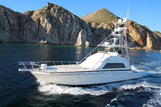 Blue Sky Cabo Fishing and Tours: This is the beautiful vessel we had the great pleasure of cruising on
