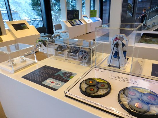 Pitlochry, UK: Some of the exhibits in the visitor centre