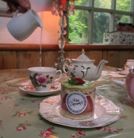 Berkhamsted, UK: Little Heath Tea Room by Miss Darmon's - Fraisier
