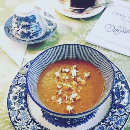 Berkhamsted, UK: Little Heath Tea Room by Miss Darmon's - Soup of the Day