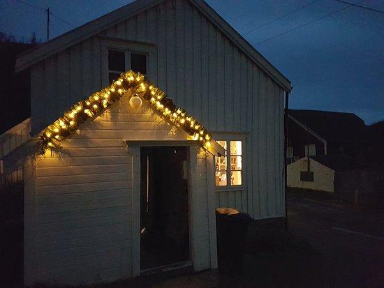 Senja, Νορβηγία: Entrance