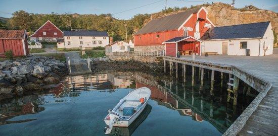 Senja, Noruega: Gammelbutikken in the middle