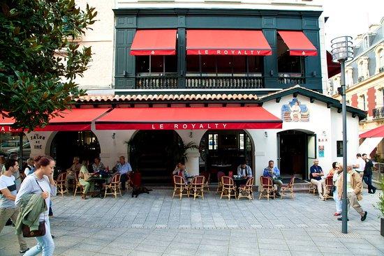 Restaurant le casino biarritz