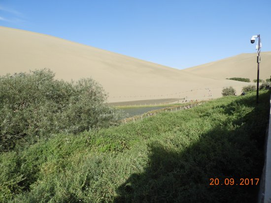 Dunhuang, China: Another shot of the lake