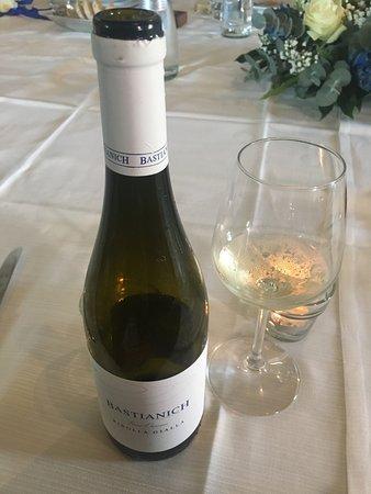 Locanda Monserrat: Vino bianco
