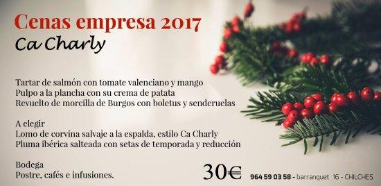 Chilches, Spain: Has pensado en tu cena de empresa?
