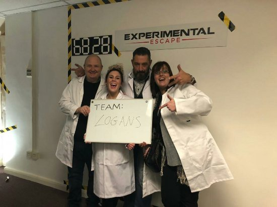 Experimental Escape: Team Logan's Barbershop