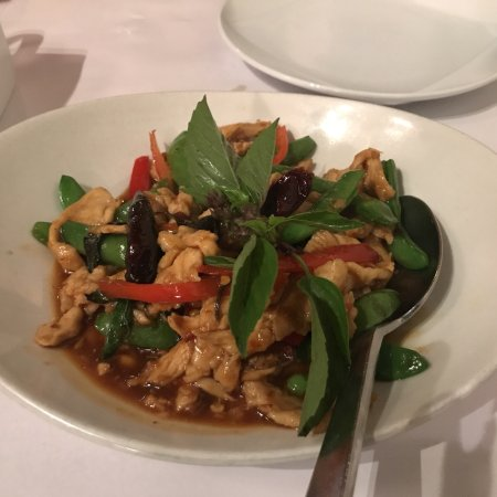 Rangoon Ruby: Pork curry and chicken