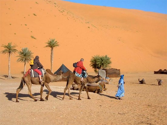 Merzouga desert the best part to see in morocco