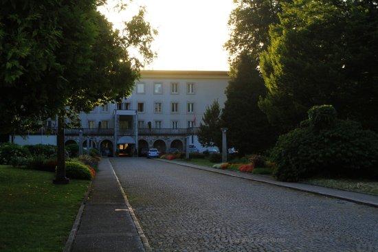 Vila Bled: Entrance