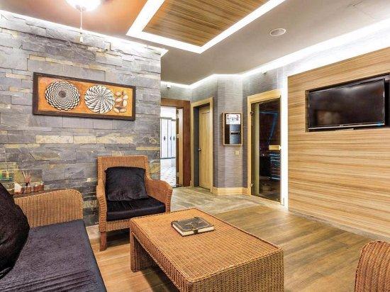 Grand Cettia Hotel: Spa area. Sauna is free of charge.