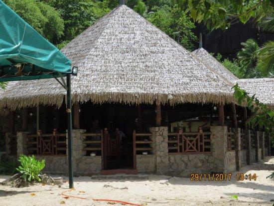 Chez Batista Villas Rustic Restaurant: entrada do Chez Batista